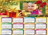 Calendário Feliz Natal 2020 Presente