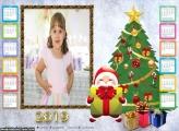 Calendário Papai Noel na Árvore de Natal 2019