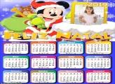 Calendário Mickey Noel 2019