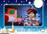 Noite Natalina Moldura de Natal