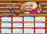 Calendário Andy Toy Story 2020