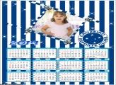 Calendário Cruzeiro 2019 Moldura