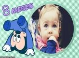 Mickey Baby 8 Meses Moldura