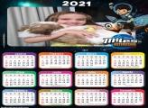Calendário Princesa Aurora Disney 2021