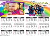 Calendário das Chiquititas 2020