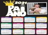 Calendário Pai do Ano de 2021
