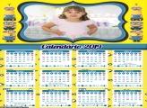Calendário dos Minions 2019