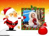 Papai Noel Existe Moldura