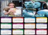 Calendário Avatar 2021