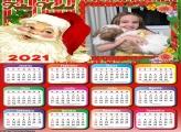Calendário Barba do Papai Noel 2021