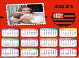 Calendário Flamengo Escudo 2021