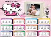 Calendário Hello Kitty 2021