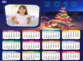 Calendário Natal Neve Iluminada 2019