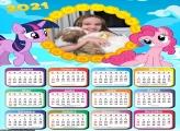 Calendário myLittlePony 2021