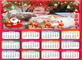 Calendário Renas do Papai Noel 2021