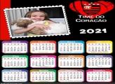 Calendário Flamengo Time do Coração 2021