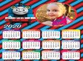 Calendário Thomas Trem de Ferro 2020