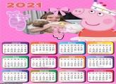 Calendário Peppa Pig Bailarina