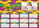Calendário Barney e Seus Amigos 2019