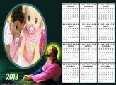 Calendário Jesus Cristo 2018