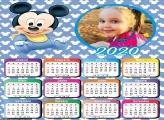 Calendário Mickey Baby 2020