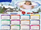 Calendário Papai Noel Polo Norte 2019