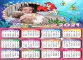 Calendário Ariel Princesa 2021