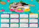 Calendário Flamingo 2021