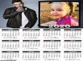 Calendário Lucas Lucco 2020