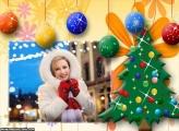 Árvore de Natal Enfeitada com Bolas