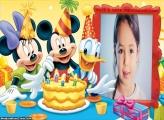 Festa Aniversário Mickey Moldura