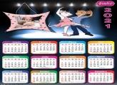 Calendário Angelina Bailarina 2021