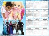 Calendário Frozen Fime 2018