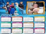 Calendário Frozen 2021