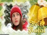 Sinos de Feliz Natal Moldura