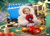 Natal Feliz Moldura Natalina