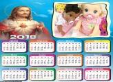 Calendário de Jesus Cristo 2018