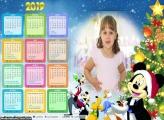 Calendário Turma do Mickey Natal 2019