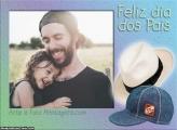 Moldura Dia dos Pais Colagem de Foto