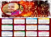 Calendário Moldura Natal 2020