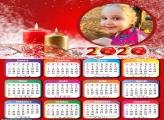 Calendário Velas Natalinas 2020