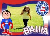 Bahia Time Futebol Moldura