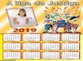 Calendário A Liga de Justiça 2019
