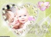 Pérolas Dia das Mães Foto Montagem
