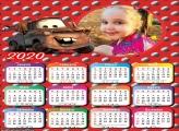 Calendário Carros 2020