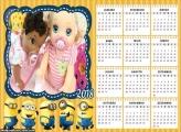Calendário Minions 2018