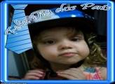 Feliz Dos Pais Gravata Azul Montagem