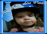 FotoMoldura Feliz Dos Pais Gravata Azul