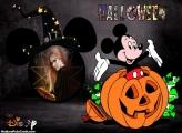 Colagem de Foto Halloween Mickey