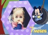 Mickey Baby 7 Meses Moldura